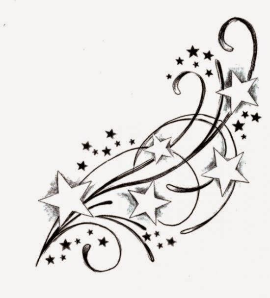 550x608 Tattoo Stars Free Tattoo Pictures