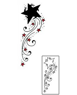 250x310 56 Best Shooting Star Tattoos Images On Astronomy