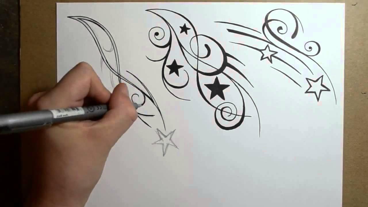 1280x720 Shooting Star Tattoo Drawings Shooting Star Tattoo Designs Fresh