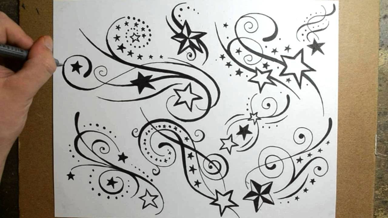 1280x720 Shooting Star Tattoo Drawings Shooting Star Tattoo Designs