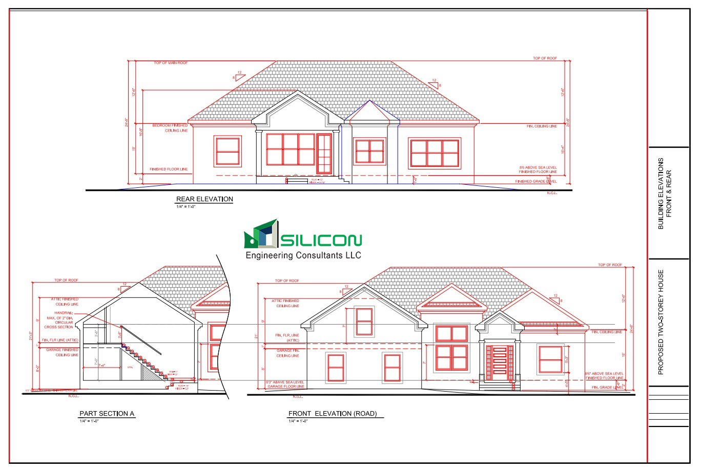 1368x922 Architectural Interior Construction Plans Drawings Services Usa