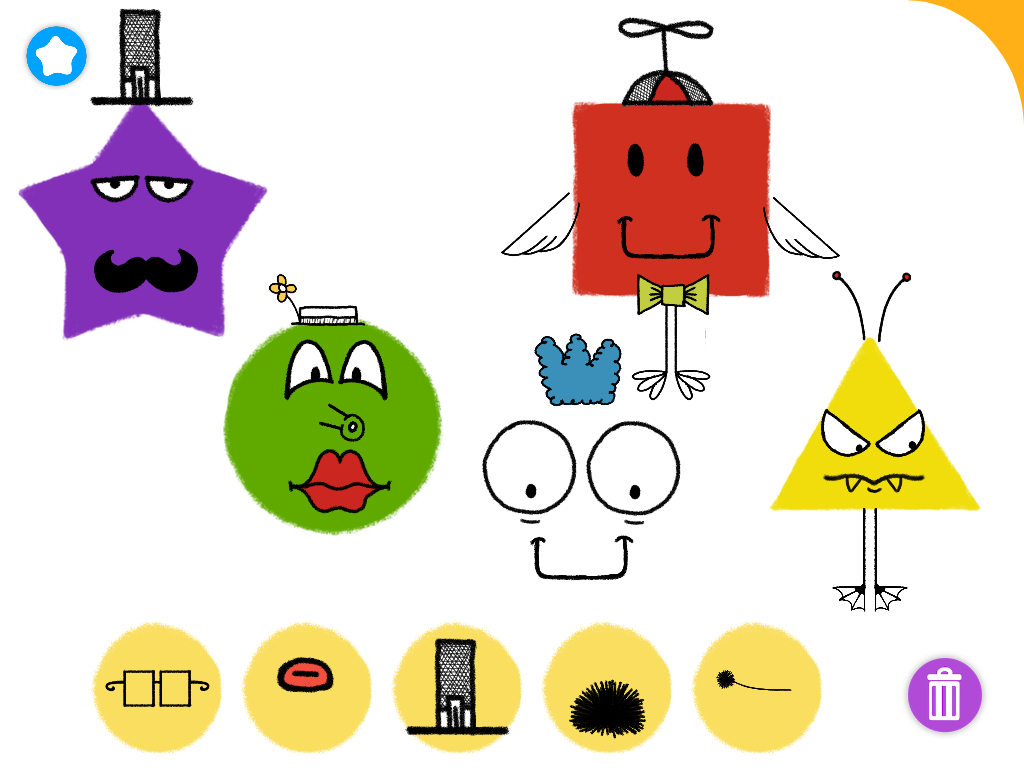 1024x768 Simple Drawing Kids Using Shapes Worksheet. Drawing Shapes