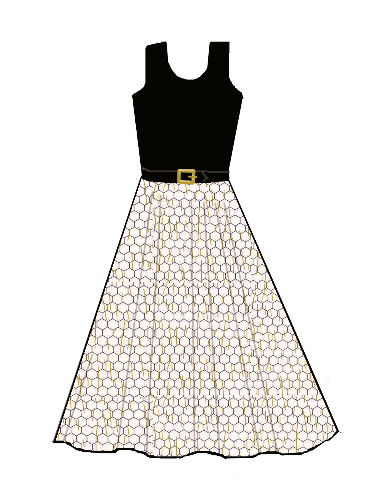 Simple Dress Drawing For Kids at GetDrawings.com | Free for personal ...
