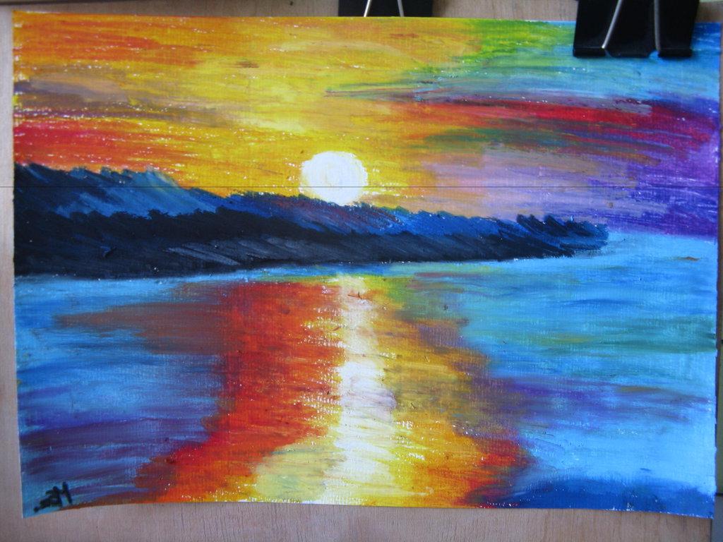 Protecting Oil Pastel Artwork