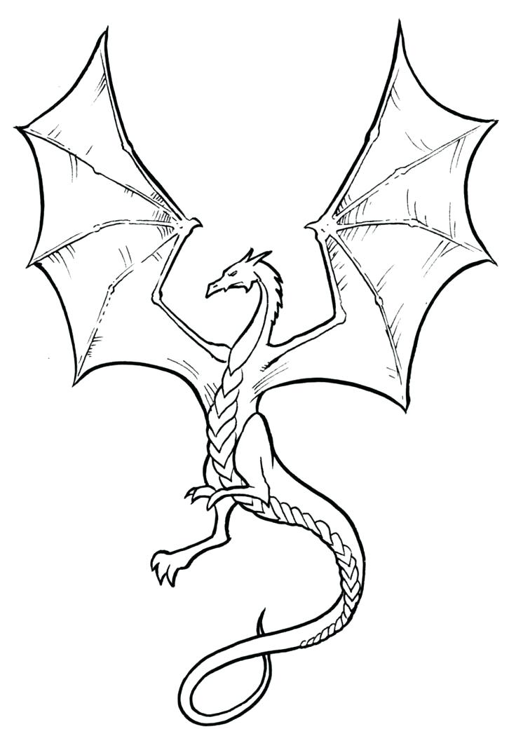 736x1060 Easy To Draw Dragons Best Simple Dragon Drawing Ideas On Dragon
