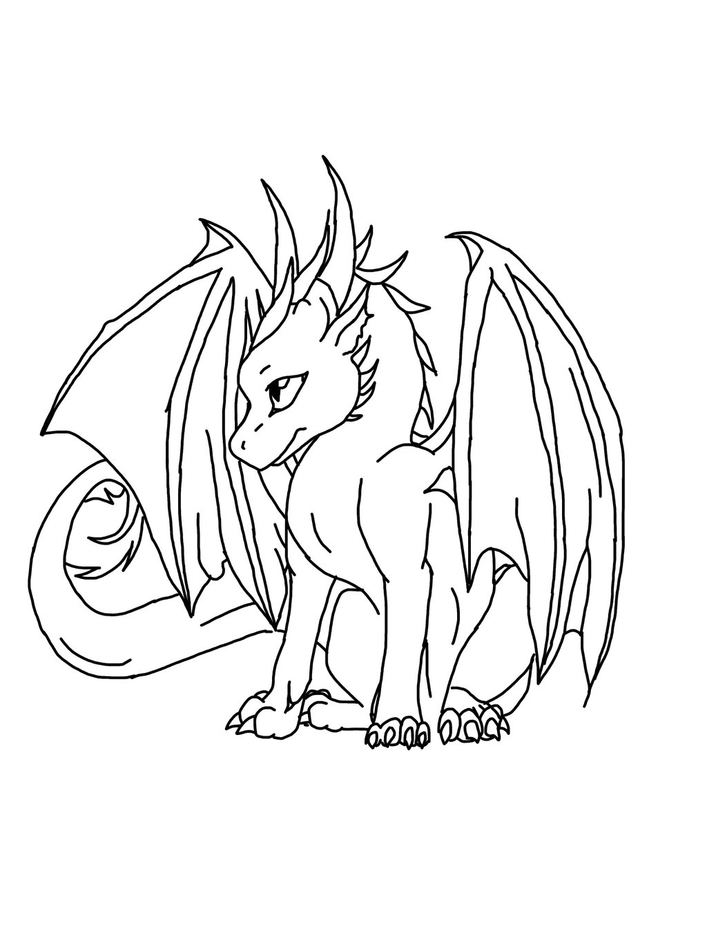 1024x1365 Drawing Cute Dragon Drawings Tumblr Together With Simple Cute