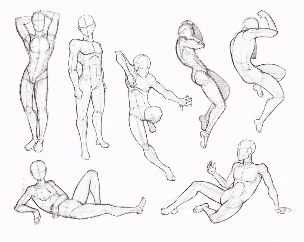 Sitting Poses Drawing