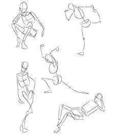 235x269 Figure Drawing Skeleton