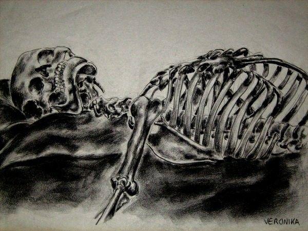600x450 The 11 Best Skeleton Drawings Images On Skeleton