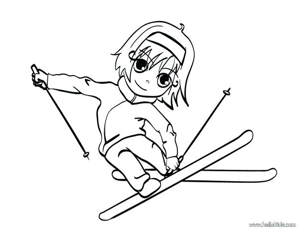 620x480 Ski Coloring Pages Skiing Coloring Pages Ski Lift Coloring Pages