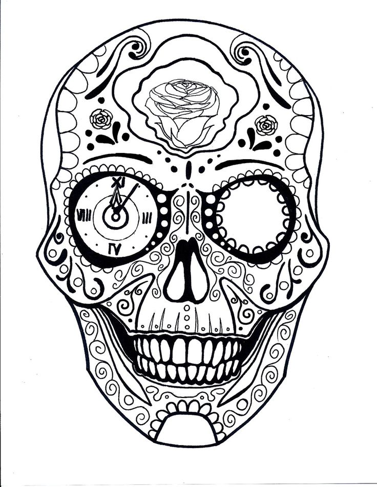 736x952 11 Best Candy Skull Images On Sugar Skulls, Candy
