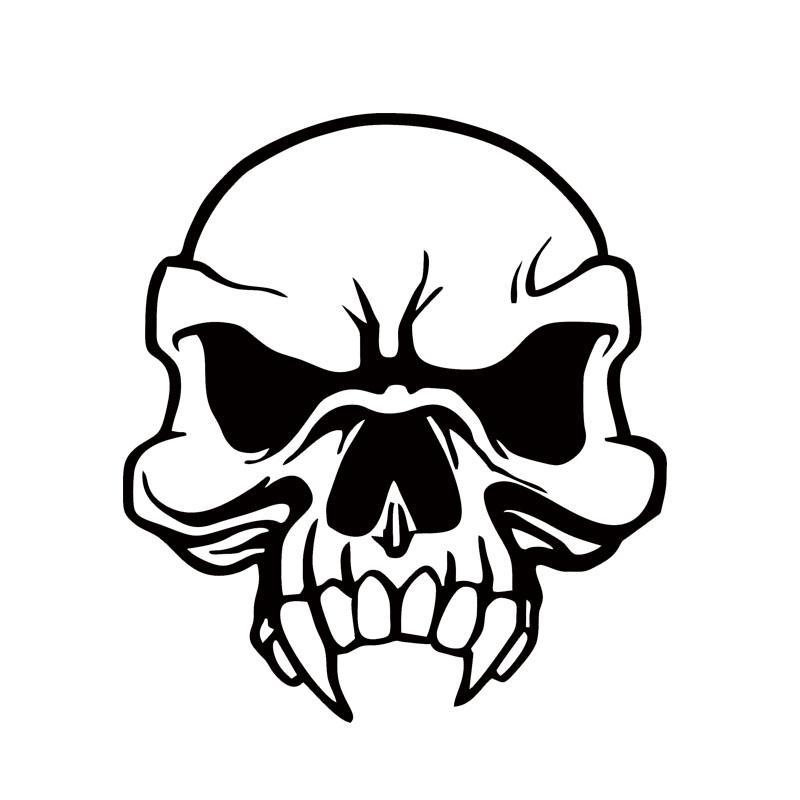Skull Teeth Drawing