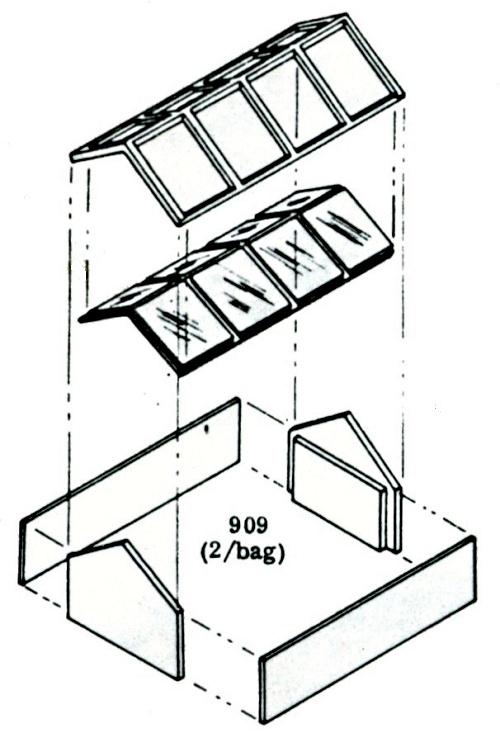 500x733 Skylight 2 Per Bag Ho Scale