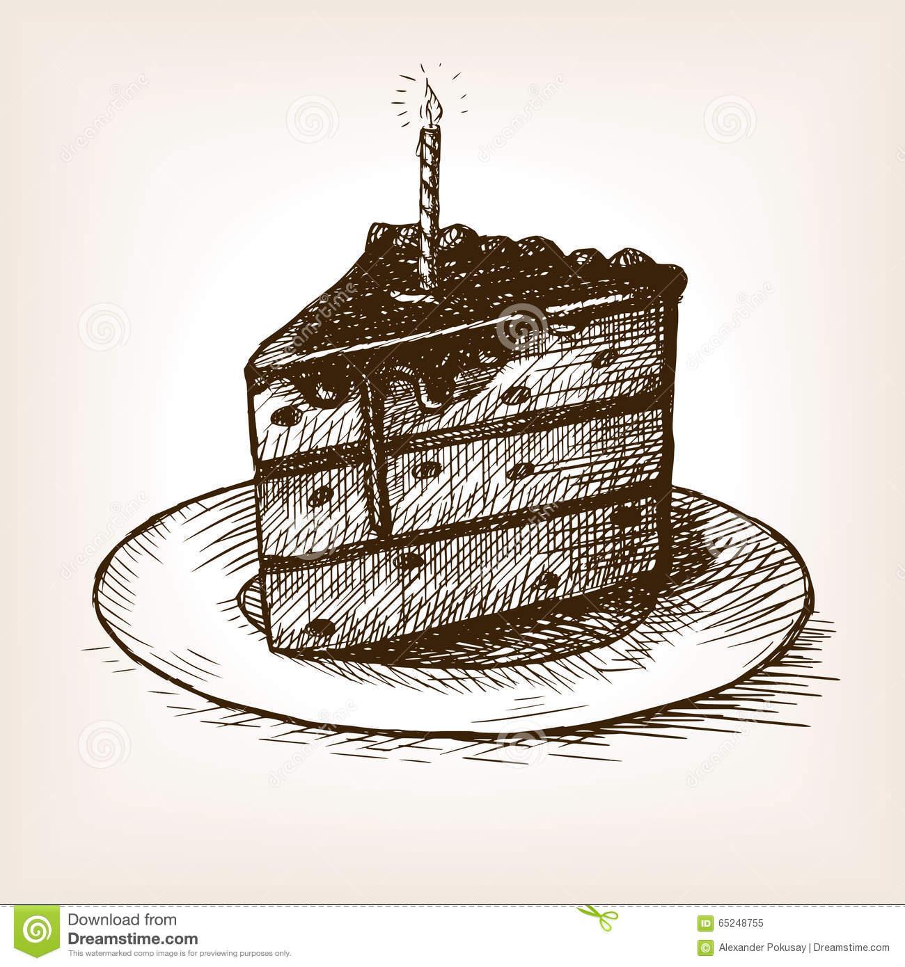 1300x1390 Slice Of Cake Drawing