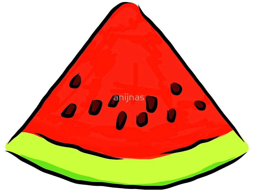 1000x750 Watermelon Slice Art Drawing Painting Water Melon Seeds Art Pop