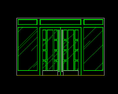 Sliding Door Elevation Drawing At Getdrawings Free Download