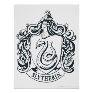 307x307 Slytherin Crest Art Amp Framed Artwork Zazzle