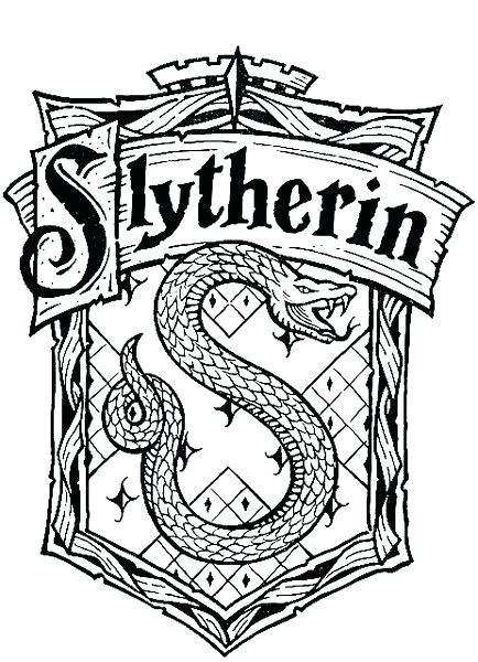 434x600 Gryffindor Crest Coloring Page Crest Coloring Page Crest Coloring