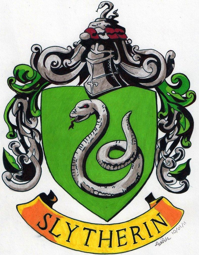 789x1012 Slytherin Crest By Tuliipiie