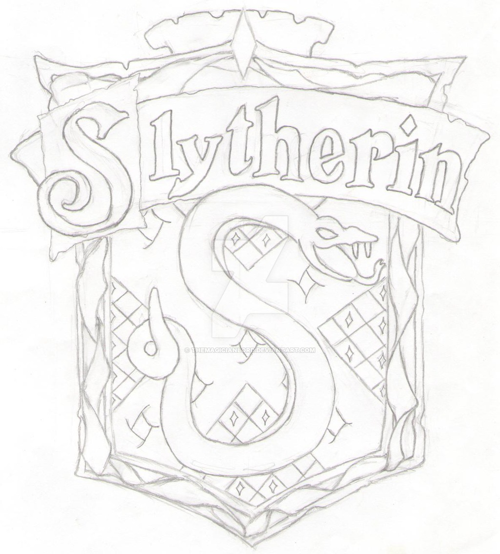 1024x1135 Slytherin By Themagicianlord