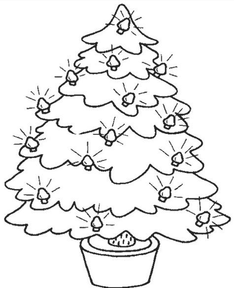 Small Christmas Tree Drawing