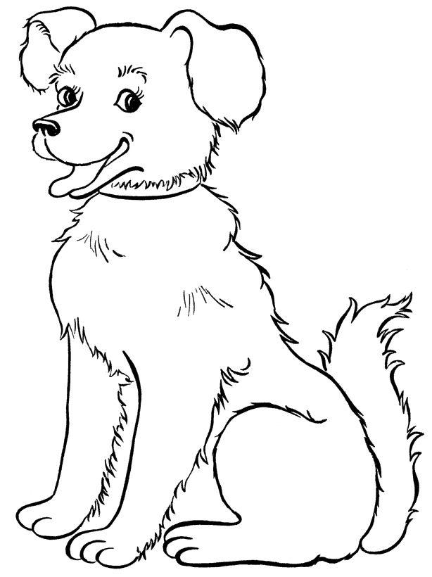 Smile Dog Drawing