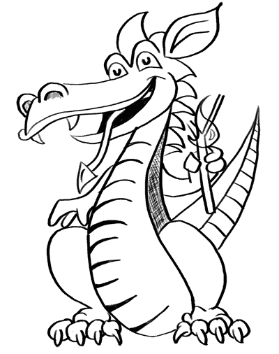 400x506 How To Draw Dragons 50 Best Dragon Drawing Tutorials