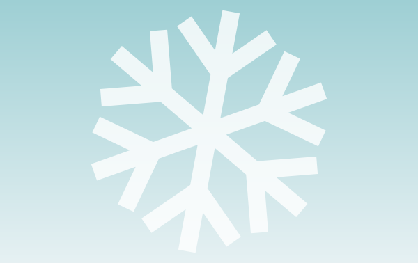 600x378 Easiest Way To Draw A Snowflake Goinkscape!