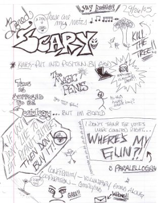 314x400 Doodles In Sociology By Pods Mouse