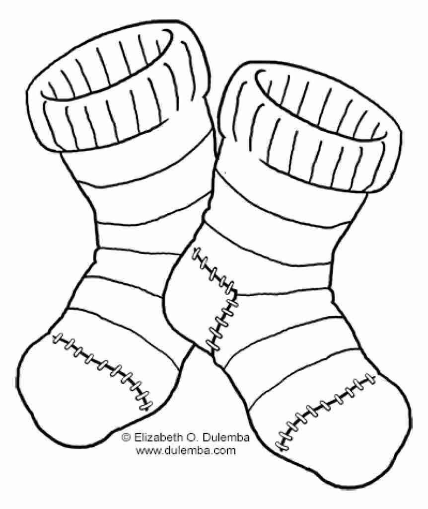 Sock Technical Drawing At Getdrawings Com Free For