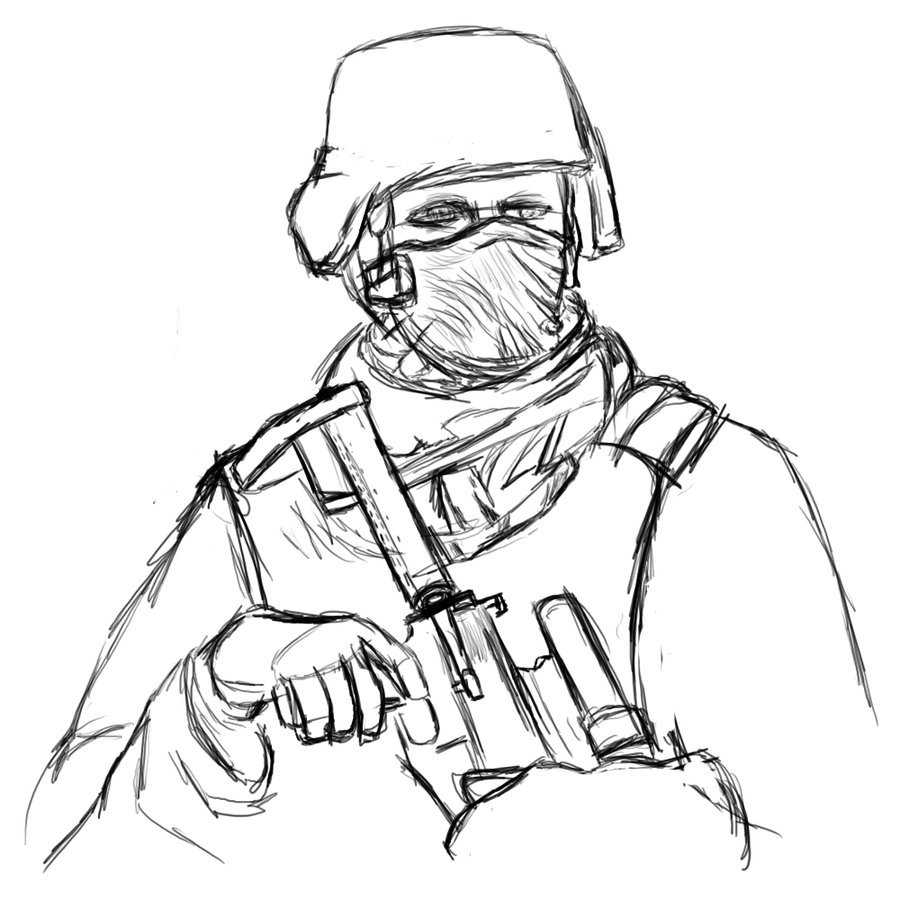 900x900 Pictures Us Soldier Drawing,