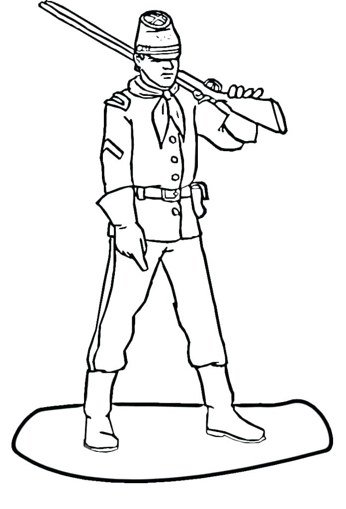 696x1024 Soldier Drawing At Free For Personal Use Revolution Coloring Pages