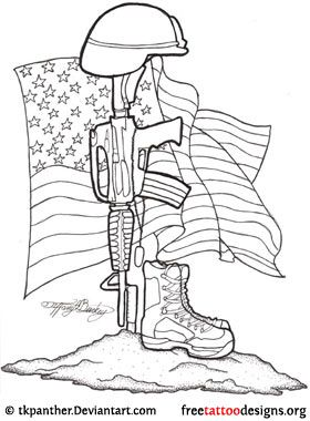 280x380 Navy Drawings Soldier Memorial Tattoo Design Drawing Ideas