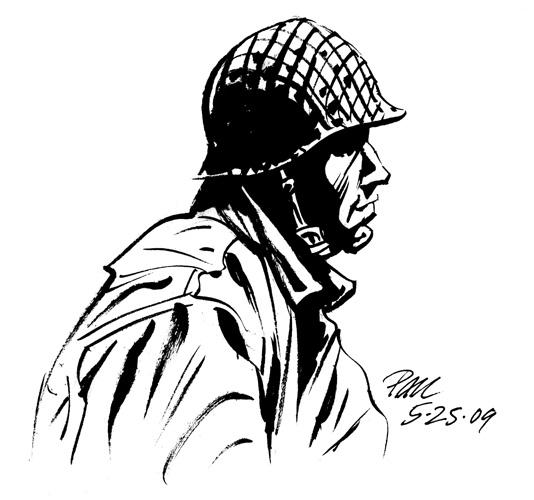 534x500 Blue Moon Studios Soldier Sketch