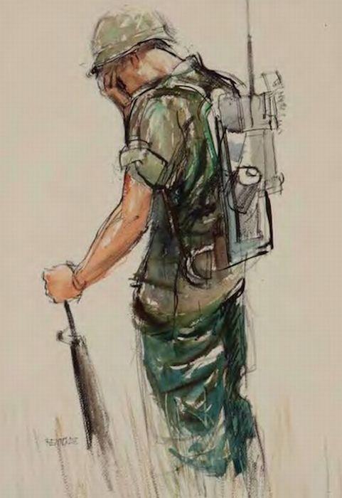 481x700 Curiosities War Art By Us Soldiers