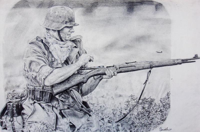800x530 German Soldier By Thdark