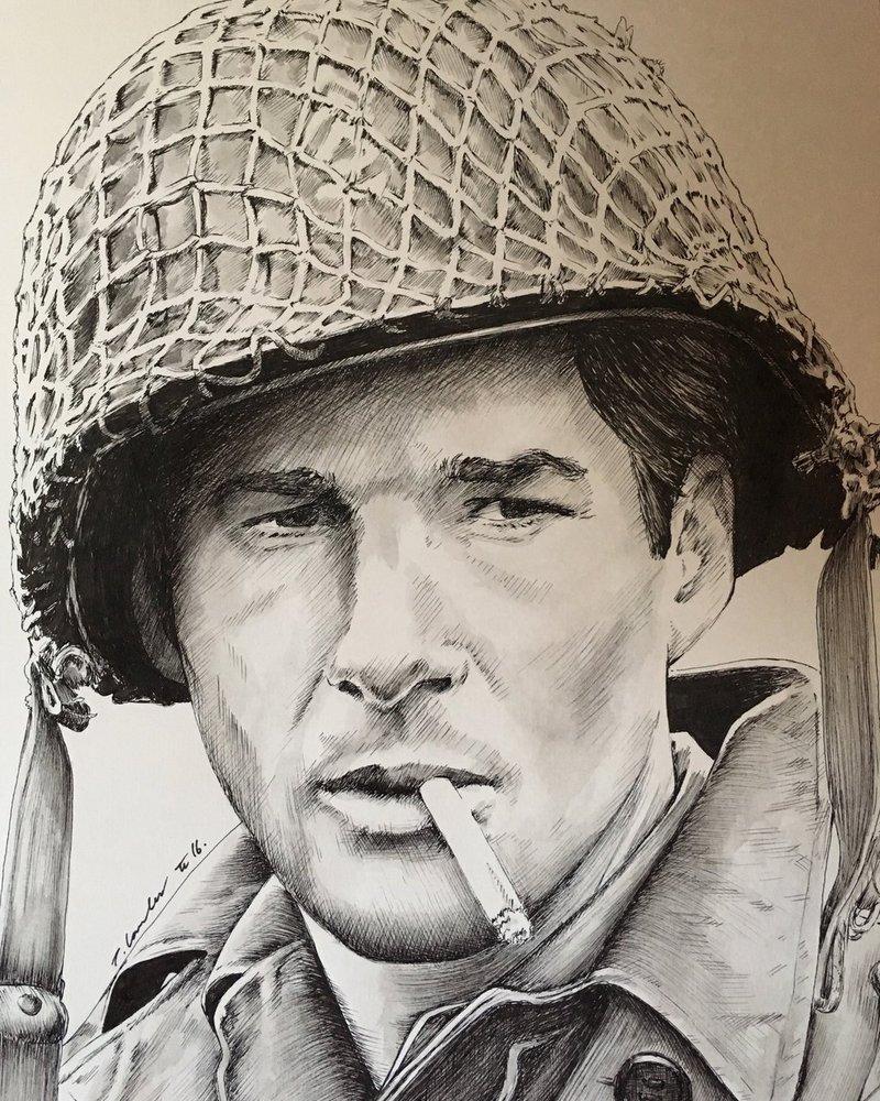 800x1000 Richard Gere Yanks Soldier Drawing By Billyboyuk