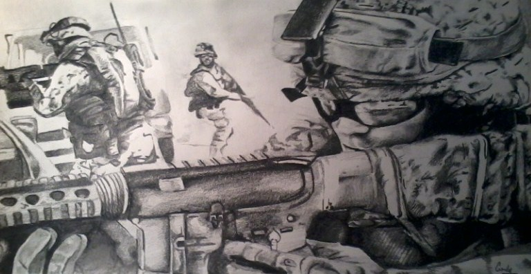 768x396 Soldier Drawing (3) By Xxbloowahfullxx