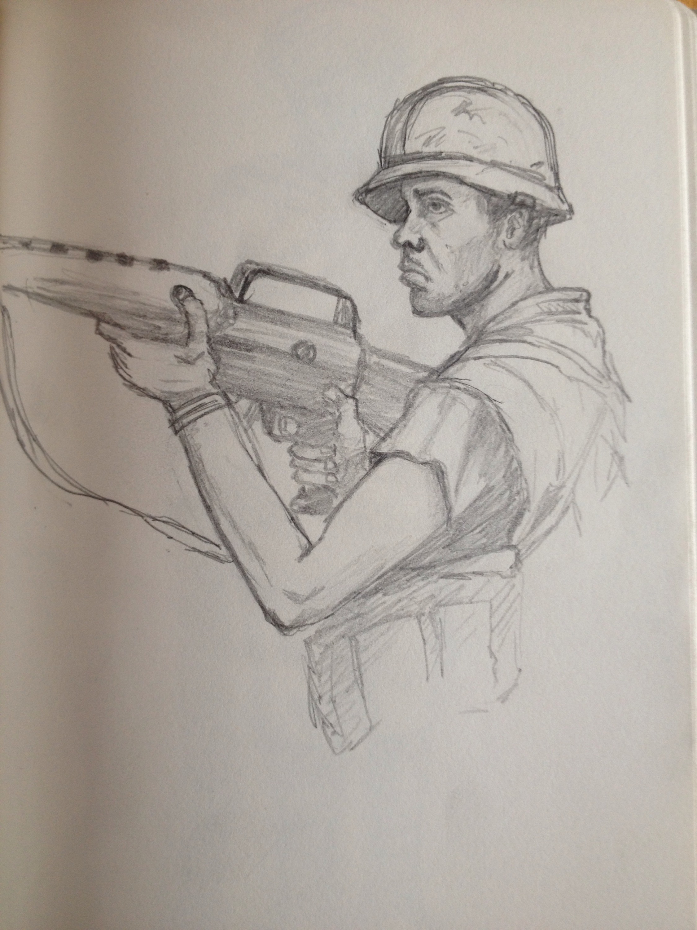 2250x3000 Soldier Pencil Drawing Pencil Drawing Of Soldier Tim 1966 Page 4