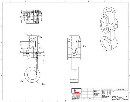 Solidworks Assembly Drawing Exploded View At Getdrawings