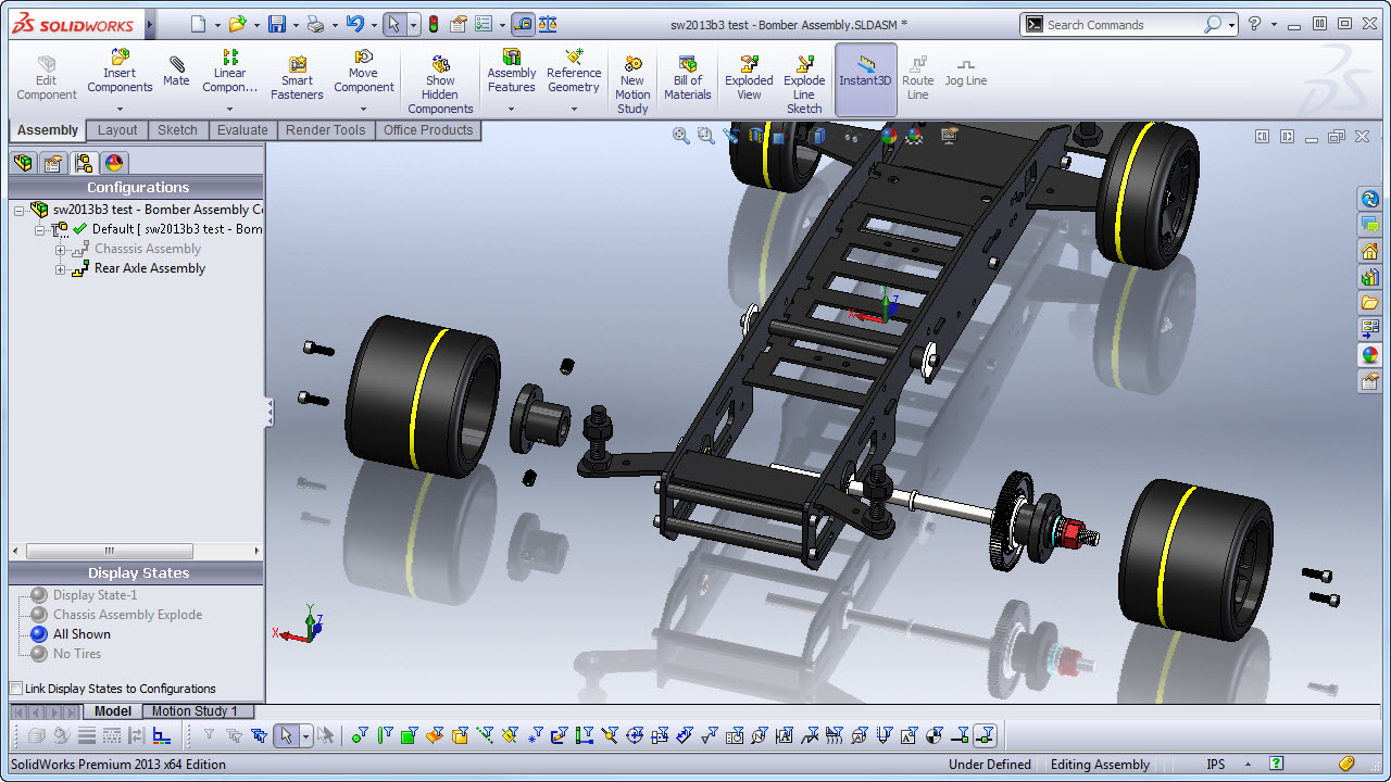 Solidworks Assembly Drawing Exploded View at GetDrawings com