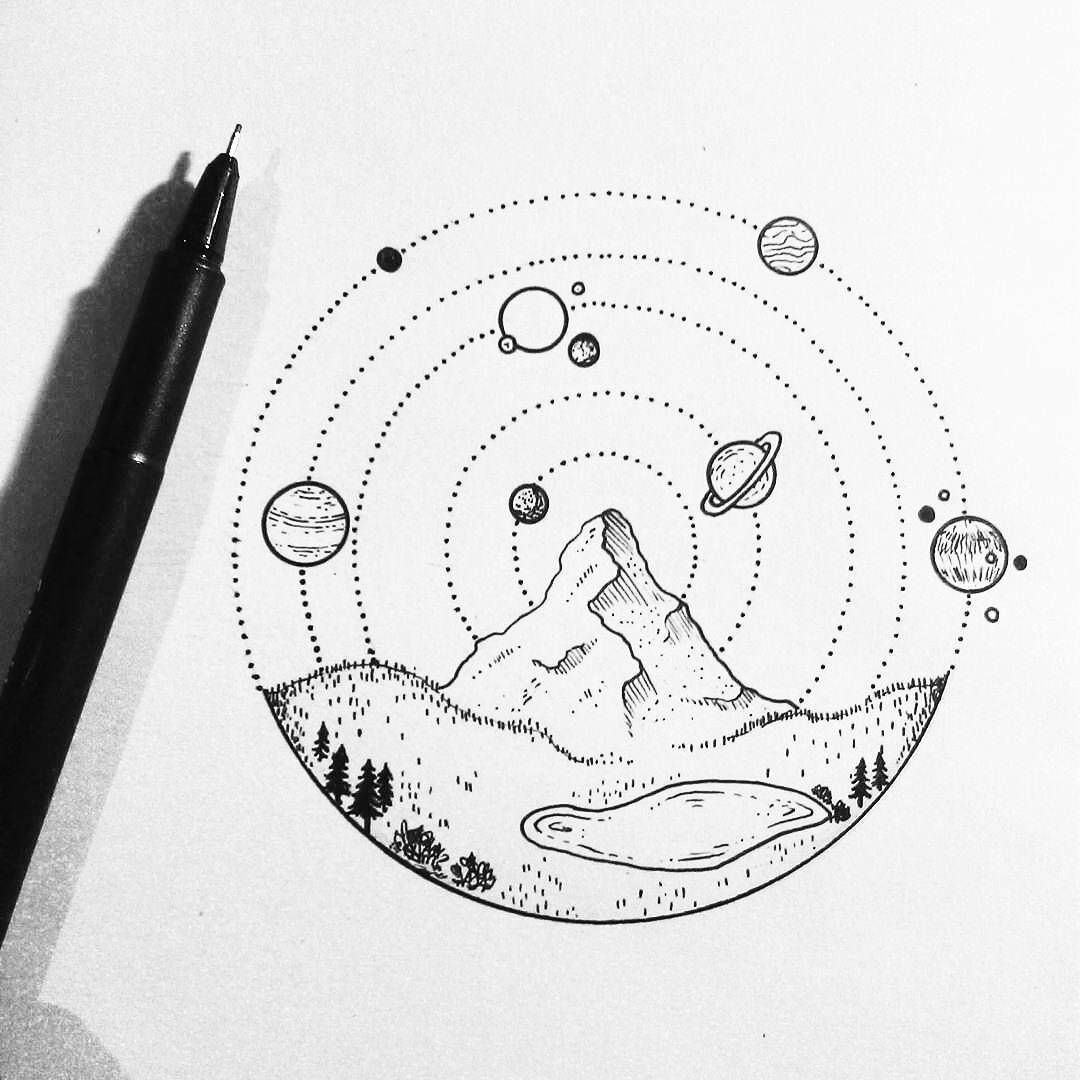Space Drawing Tumblr