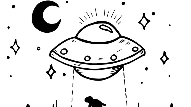 640x360 Collection Of Tumblr Space Drawing High Quality, Free