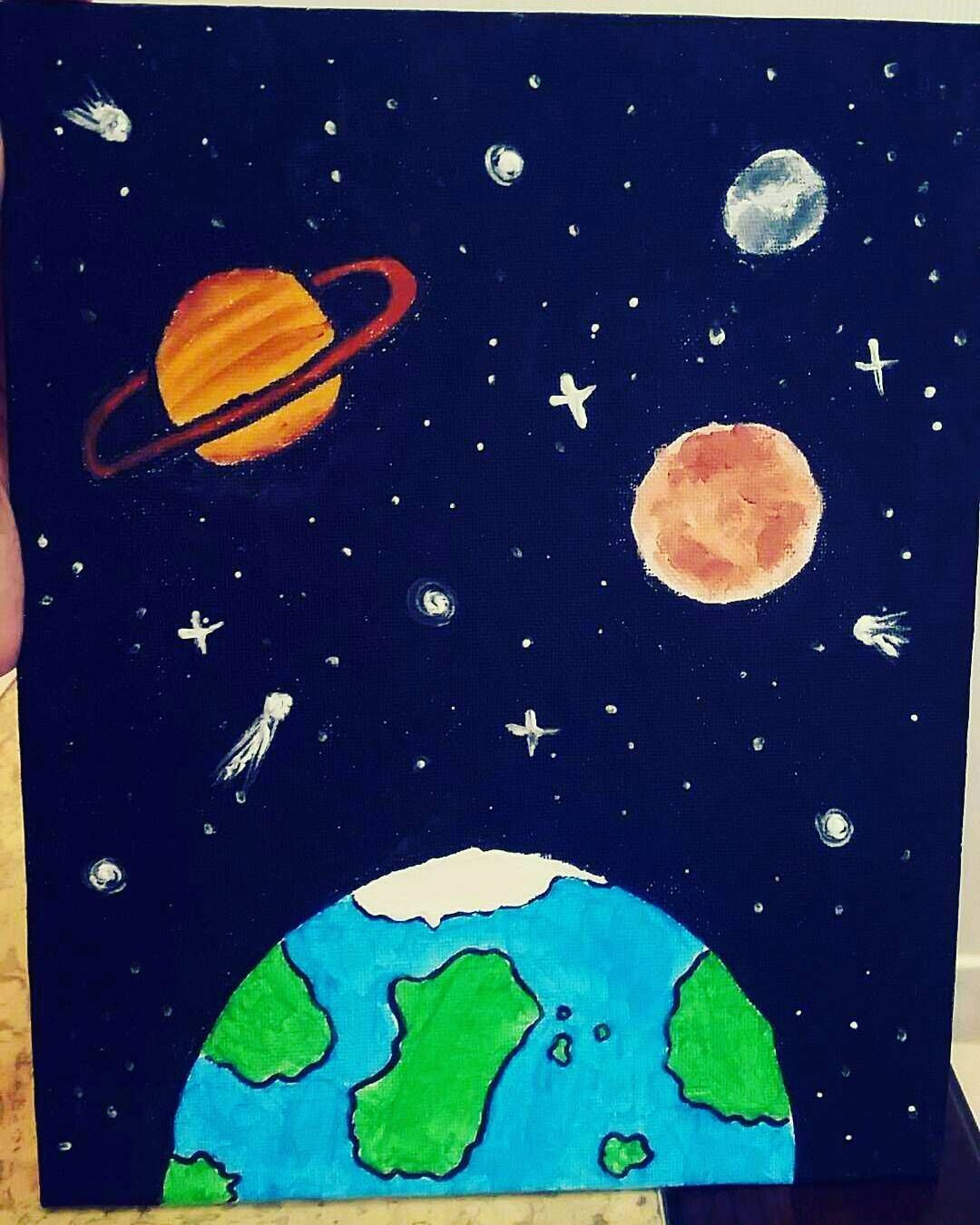 It is a picture of Terrible Tumblr Space Drawing