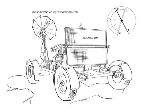 Space Rover Drawing