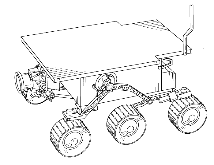 699x537 Collection Of Space Rover Drawing High Quality, Free