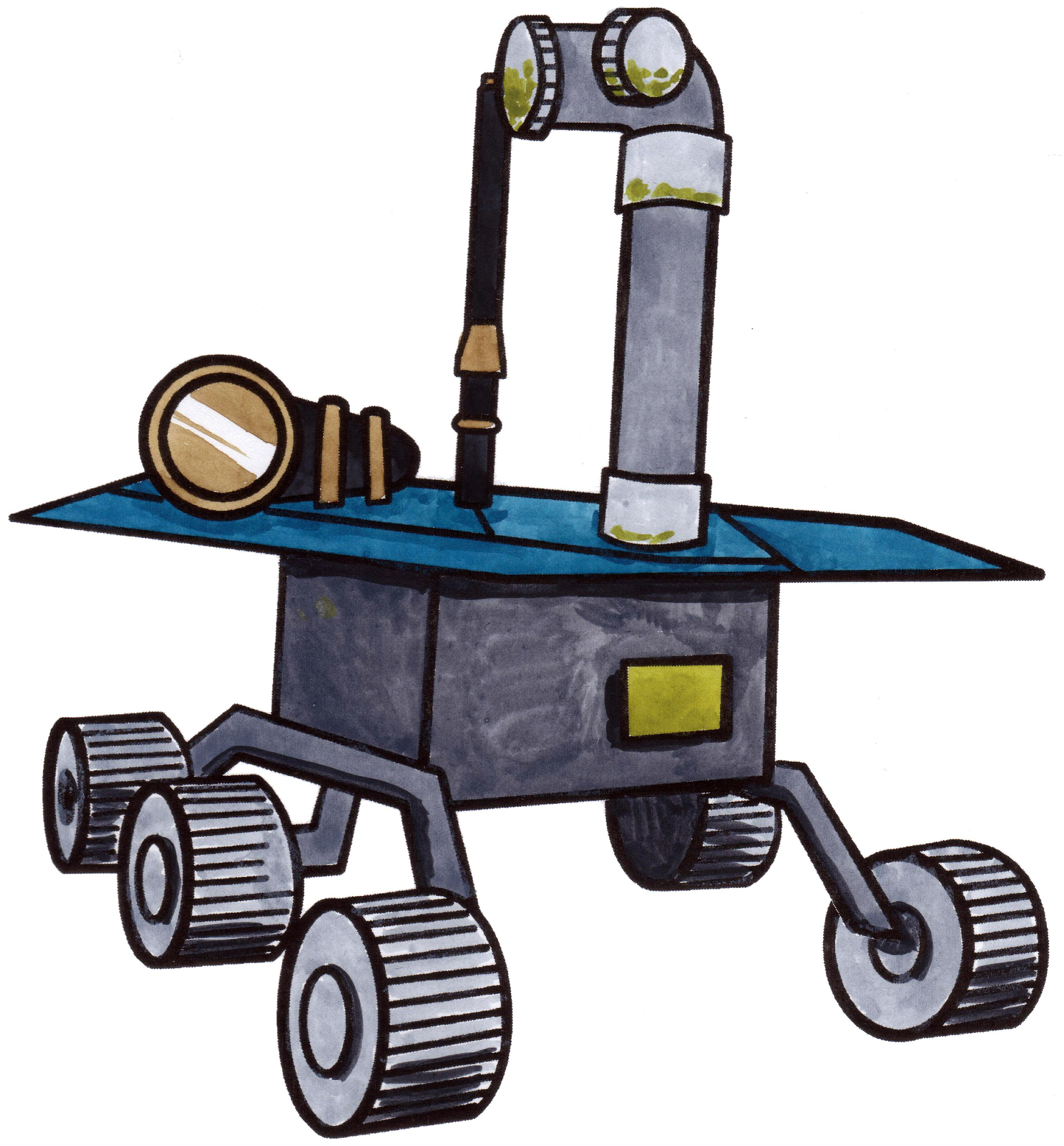 3048x3282 How To Draw A Space Rover. Rovers Are Sent To Planets That Are
