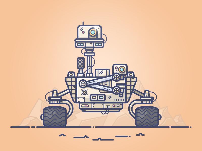 800x600 Mars Rover By Alex Kunchevsky