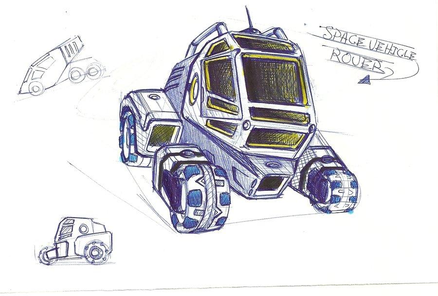 900x608 Space Rover By Pokriktiger