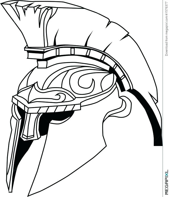 Spartan Soldier Drawing at GetDrawings.com | Free for personal use ...